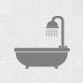 Duşlu ve Küvetli Banyo